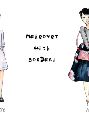 makeover with gocdani